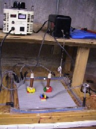 Click for, High Voltage Lego experiment.