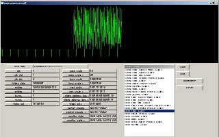 Click for, vhdl simulator of a video display NTSC.